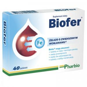 Wszystko, co powinieneś wiedzieć o suplemencie diety Biofer